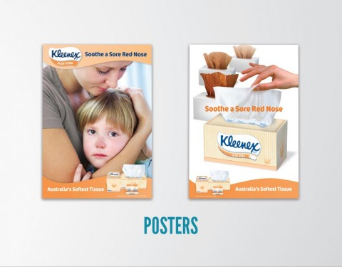Echo Design created Kleenex Posters