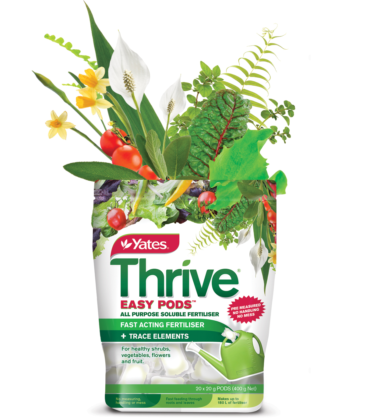 Yates thrive packaging by Echo Design